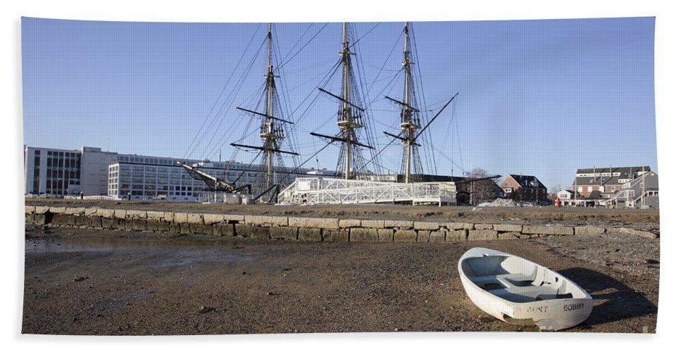 Salem Beach Towel featuring the photograph Salem Maritime National Historic Site In Salem Massachusetts Usa by Erin Paul Donovan