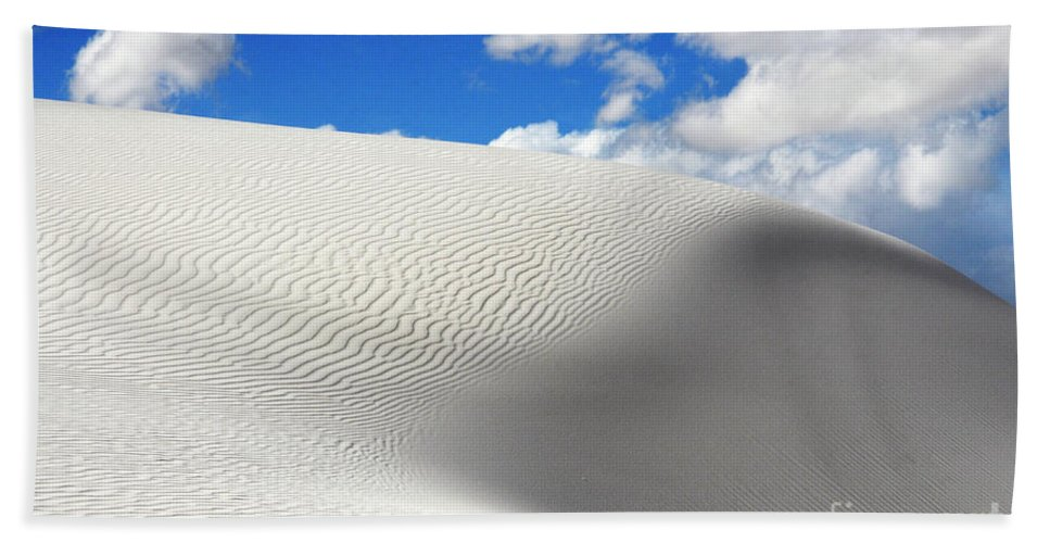 Sand Beach Towel featuring the photograph Sand Dune Magic 2 by Bob Christopher