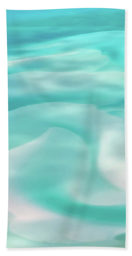 Whitehaven Beach Beach Towel featuring the photograph Sand Swirls by Az Jackson