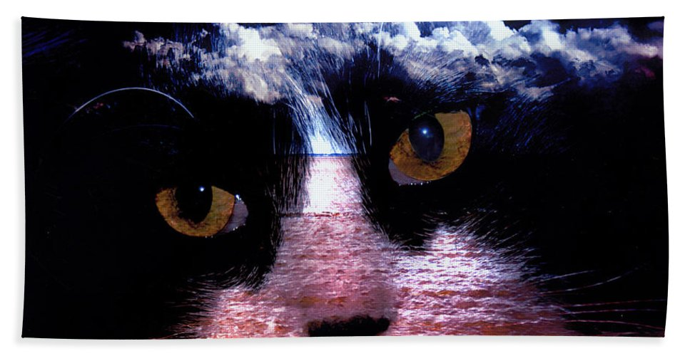 Clay Beach Towel featuring the photograph Sandy Paws by Clayton Bruster