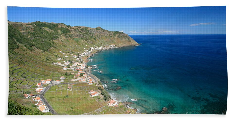 Azores Beach Sheet featuring the photograph Santa Maria Azores II by Gaspar Avila