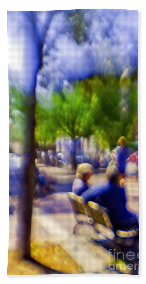 Afternoon Beach Towel featuring the photograph Saturday Afternoon 2 by Madeline Ellis