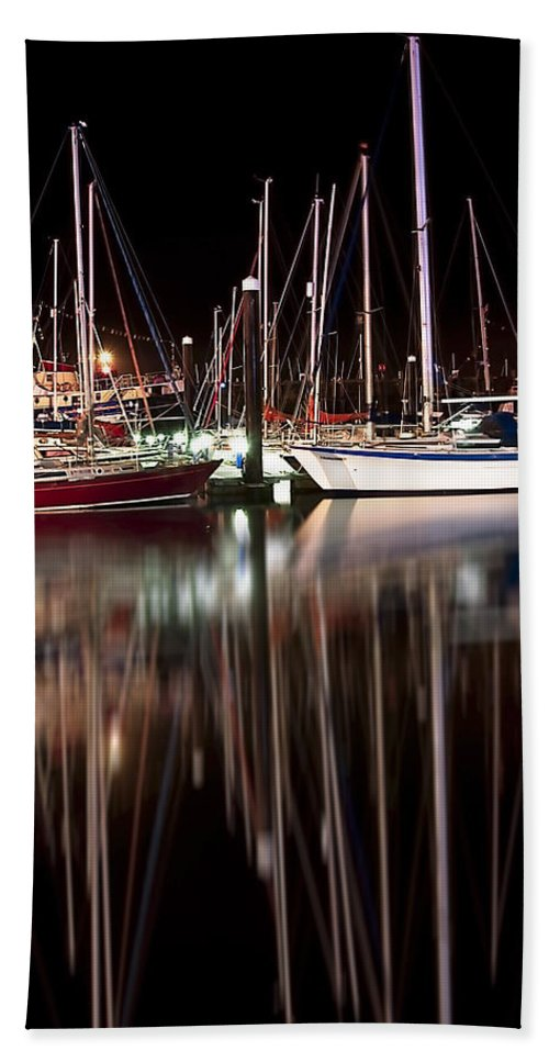 Boats Beach Towel featuring the photograph Scarborough Boats by Svetlana Sewell
