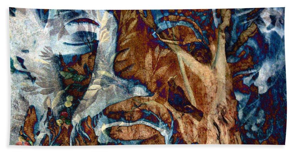 Schizophrenia Beach Towel featuring the photograph Schizophrenia by Munir Alawi