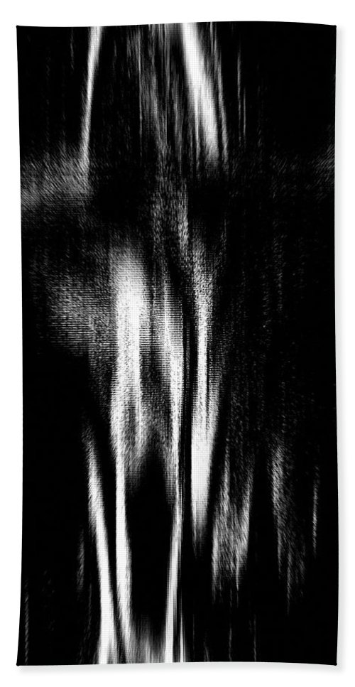 Black Beach Towel featuring the photograph Scream by Charleen Treasures