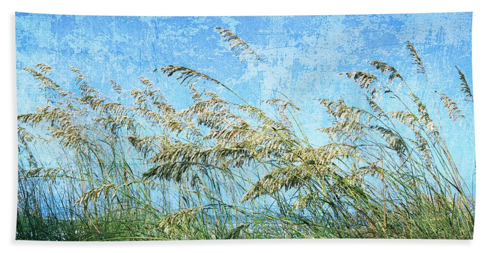 Beach Towel featuring the photograph Sea Oats One by Guy Crittenden