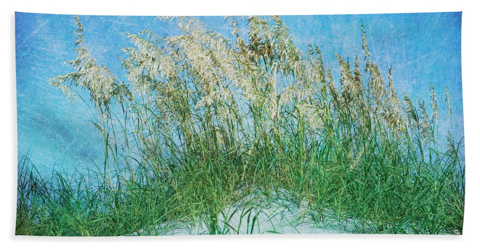 Sea Oats Beach Towel featuring the photograph Sea Oats Two by Guy Crittenden