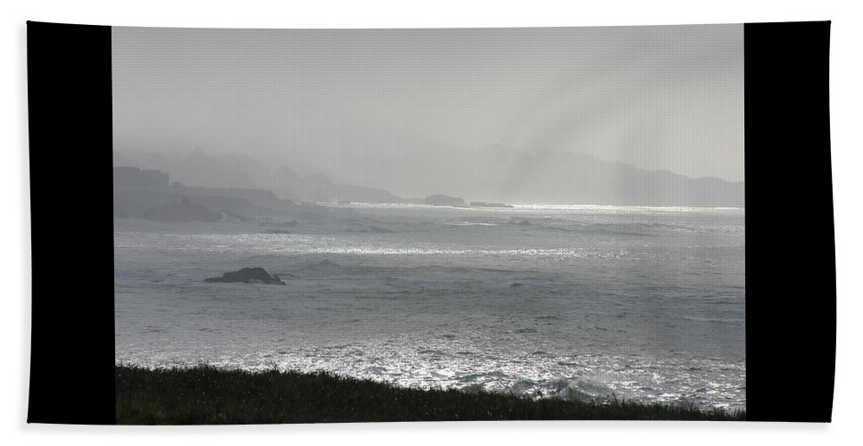 California Beach Towel featuring the photograph Sea Ranch View #2 by Debbie Groff