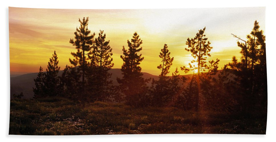 Selway Wilderness Beach Towel featuring the photograph Selway Wilderness by Leland D Howard