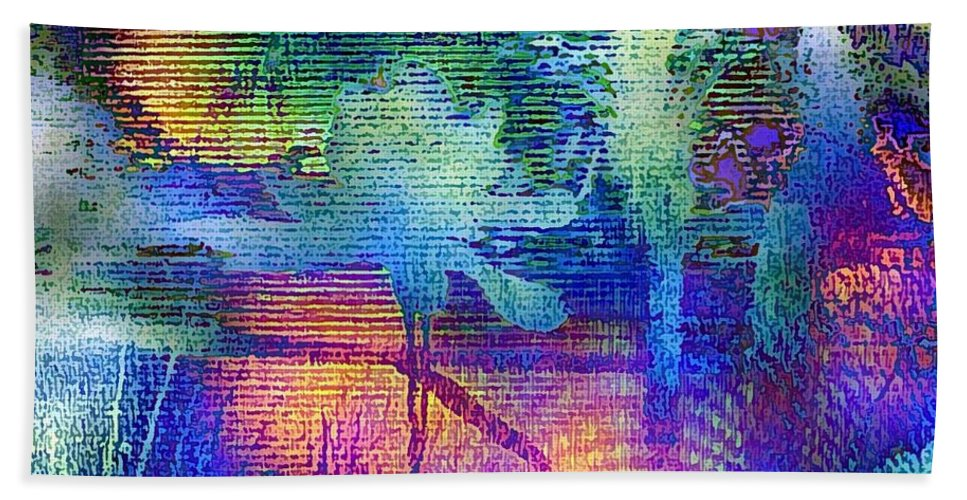 Hawaii Beach Towel featuring the digital art Shades Of Sunset by Dorlea Ho