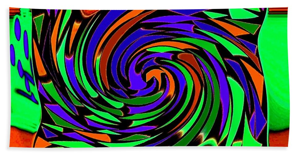 Sahara Beach Sheet featuring the digital art Shifting Sands by Will Borden