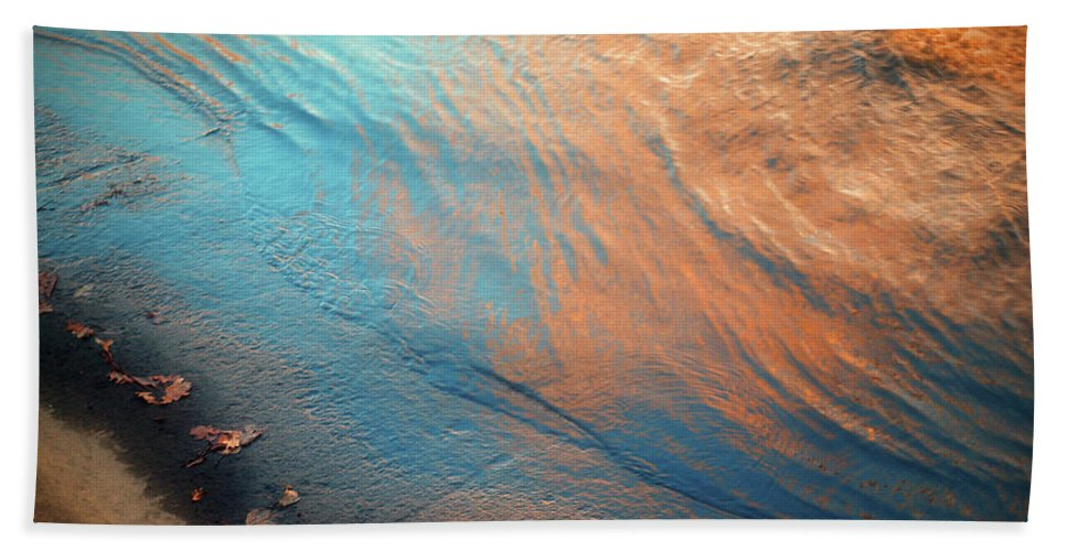 Water Beach Towel featuring the photograph Shoreline by Tara Turner