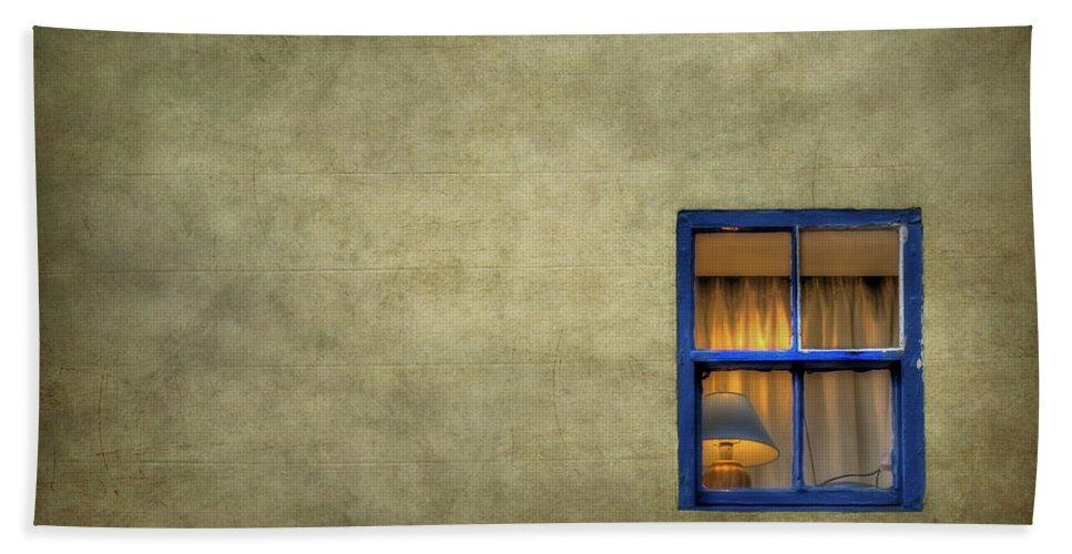 Window Beach Towel featuring the photograph Silent I Wait by Evelina Kremsdorf