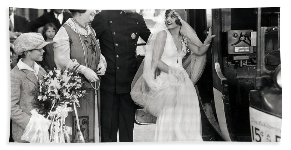 -weddings & Gowns- Beach Towel featuring the photograph Silent Still: Do Your Duty by Granger