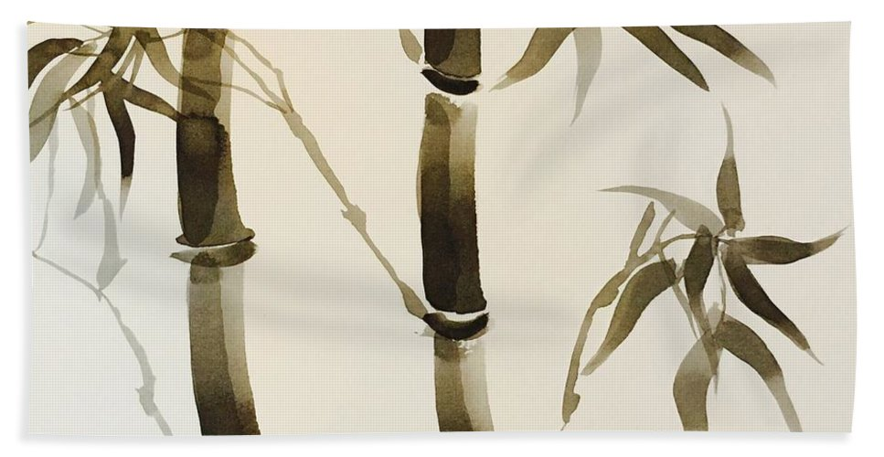 Simple Bamboo Beach Towel