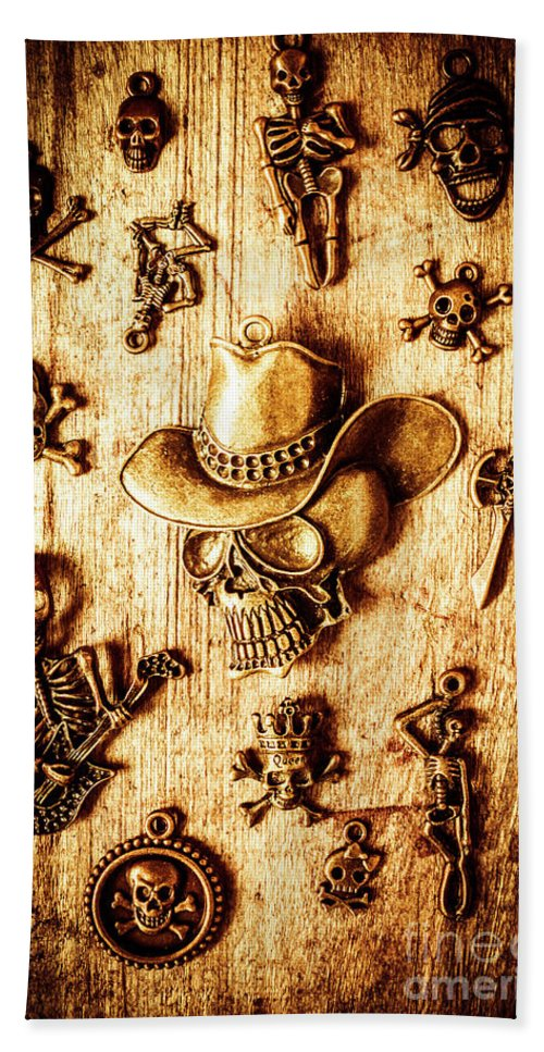 Skeleton Beach Towel featuring the photograph Skeleton Pendant Party by Jorgo Photography - Wall Art Gallery