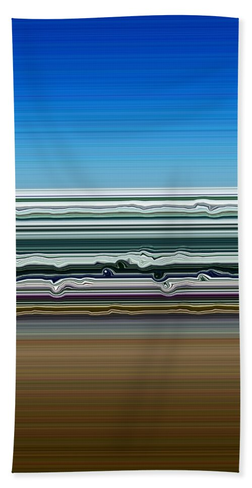 Water Beach Towel featuring the photograph Sky Water Earth by Michelle Calkins
