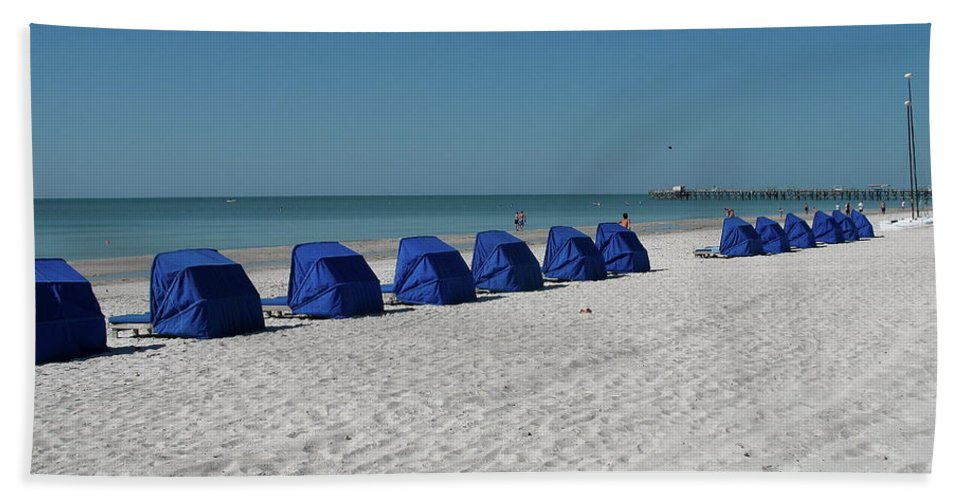 Beach Beach Towel featuring the photograph Slow Morging At The Beach by Christiane Schulze Art And Photography