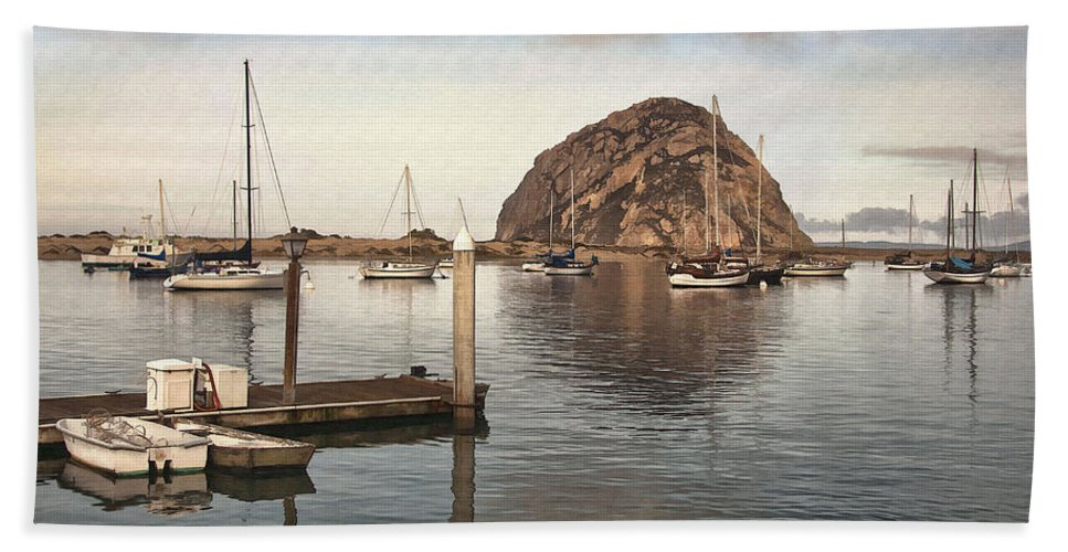 Pier Beach Towel featuring the digital art Small Pier by Sharon Foster