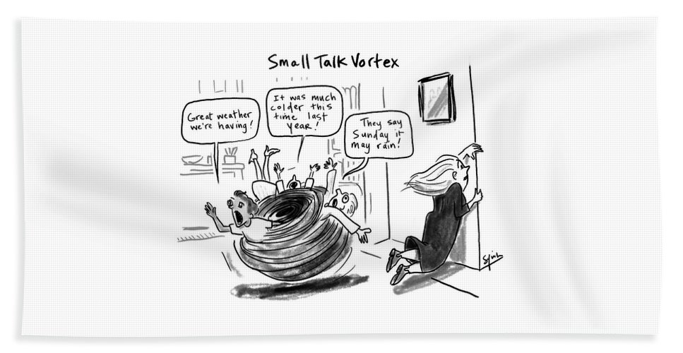 Small Talk Vortex Beach Sheet