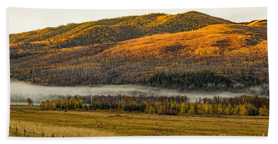 Snake River Morning Beach Towel featuring the photograph Snake River Morning by Jon Burch Photography