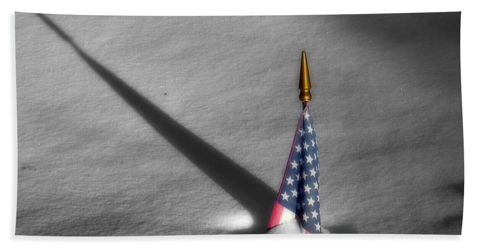 Snow Beach Towel featuring the photograph Snow Bound by Rick Monyahan
