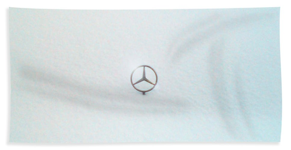 Snow Beach Towel featuring the photograph Snow Star by Are Lund