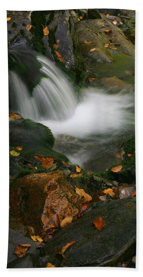 Water Beach Towel featuring the photograph Soft Flow by Shari Jardina