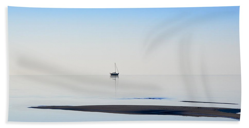 Water Beach Towel featuring the photograph Solitude by Kelley King