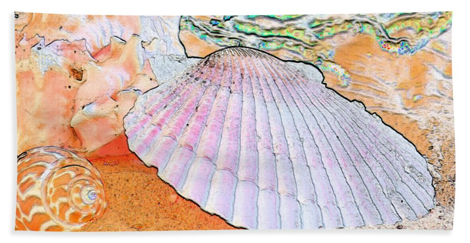 Shell Beach Towel featuring the photograph Sometimes I Dream by Betty LaRue