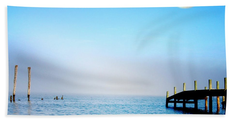 All Rights Reserved Beach Towel featuring the photograph Somewhere Far Away by Clayton Bruster