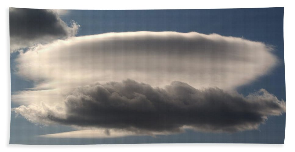 Nature Beach Towel featuring the photograph Spacecloud by Ben Upham III