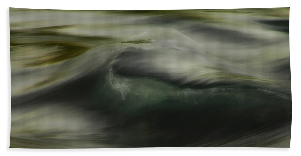 Water Beach Towel featuring the photograph Speaking Sofly by Donna Blackhall