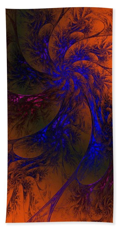 Fine Art Beach Towel featuring the digital art Spirit Dancer by David Lane