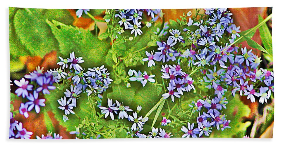 Flower Beach Towel featuring the photograph Spring by Bill Cannon