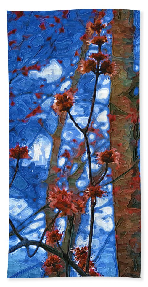 Spring Beach Towel featuring the photograph Spring Buds by Tom Reynen