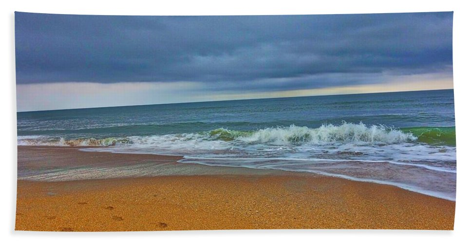 St Augustine Beach Towel featuring the photograph St Augustine Beach Florida by Joan Reese