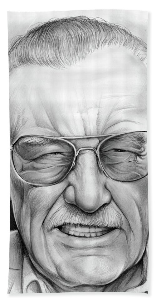 4de63fe7 Stan Lee Beach Towel for Sale by Greg Joens