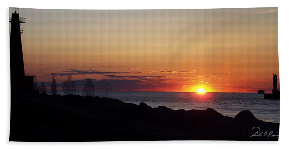 Photography Beach Towel featuring the photograph Standing The Test Of Time by Frederic A Reinecke