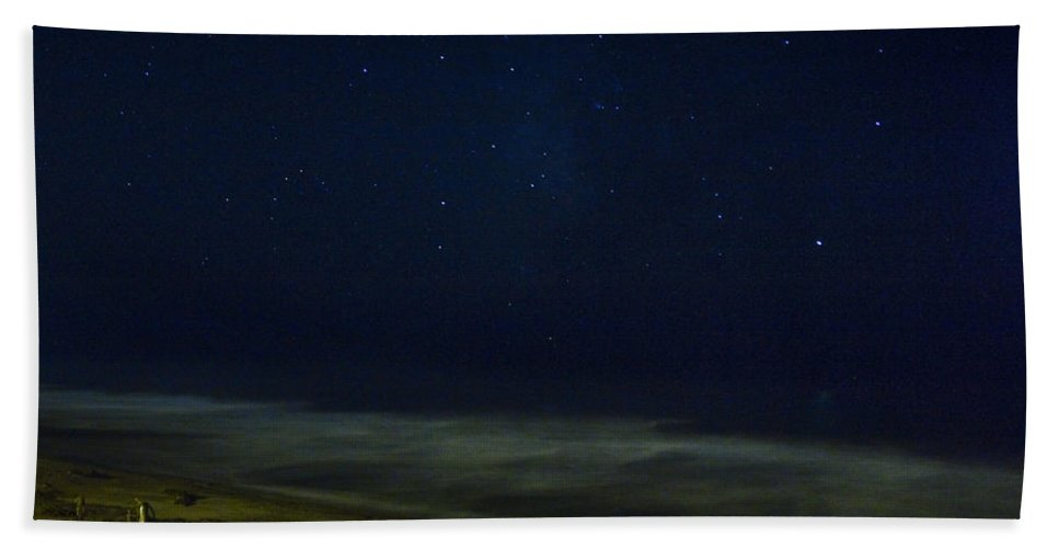Nature Beach Towel featuring the photograph Starry Night by John K Sampson