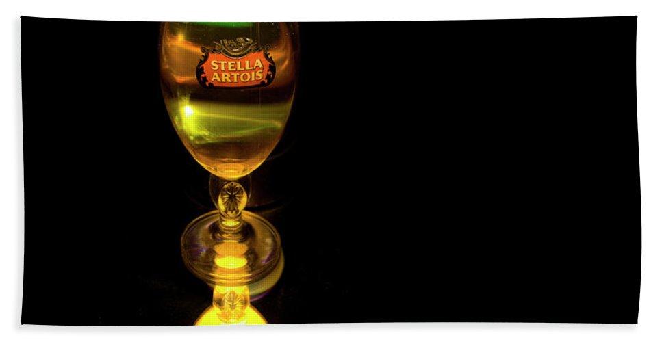 Stella Artois Beach Towel featuring the photograph Stella Artois by Angus Hooper Iii