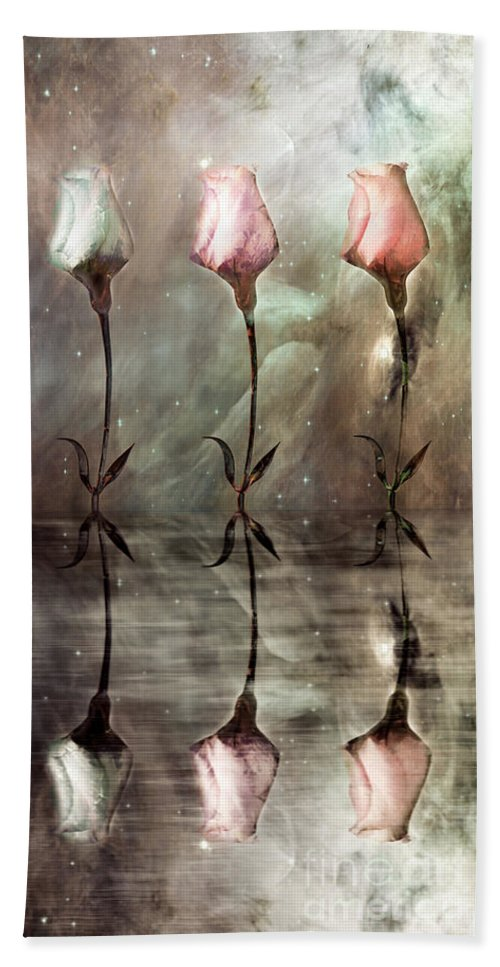 Floral Beach Towel featuring the photograph Still by Jacky Gerritsen