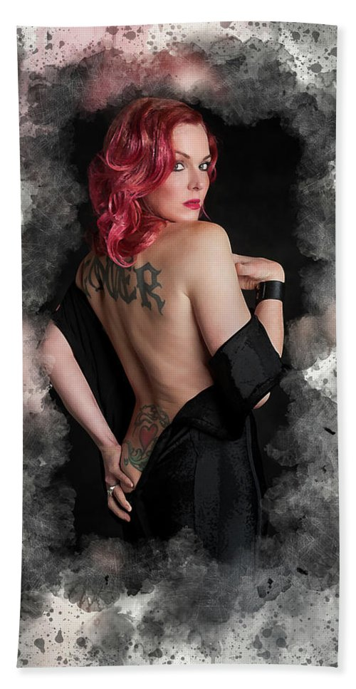 Storm Large Beach Towel featuring the digital art Storm Large by Karl Knox Images
