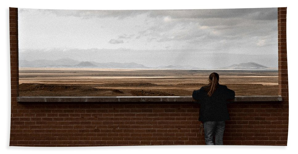 Storm Beach Towel featuring the photograph Storm View by Scott Sawyer