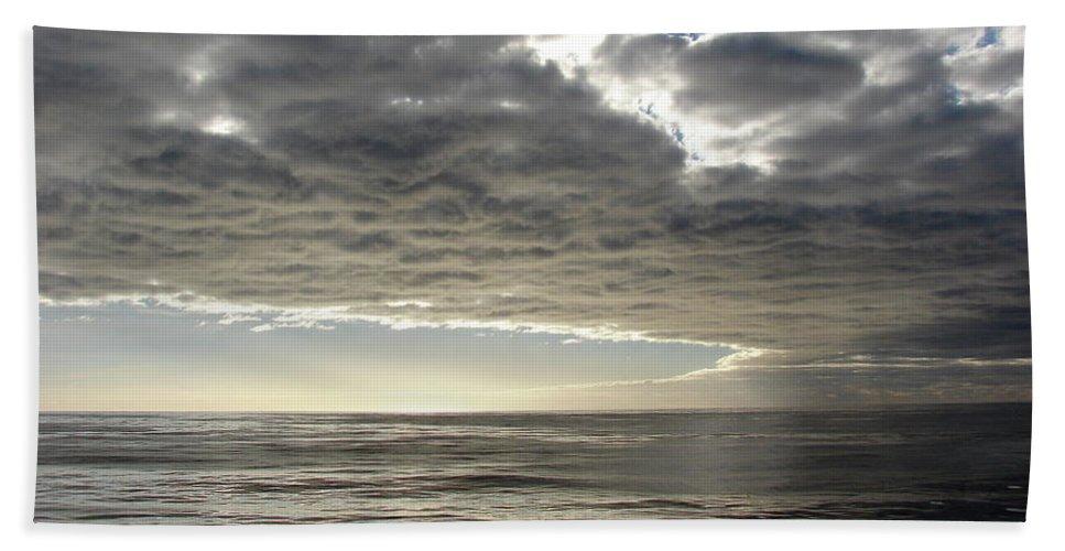 Straits Of Magellan Beach Towel featuring the photograph Straits Of Magellan I by Brett Winn