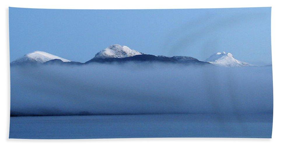 Straits Of Magellan Beach Towel featuring the photograph Straits Of Magellan V by Brett Winn