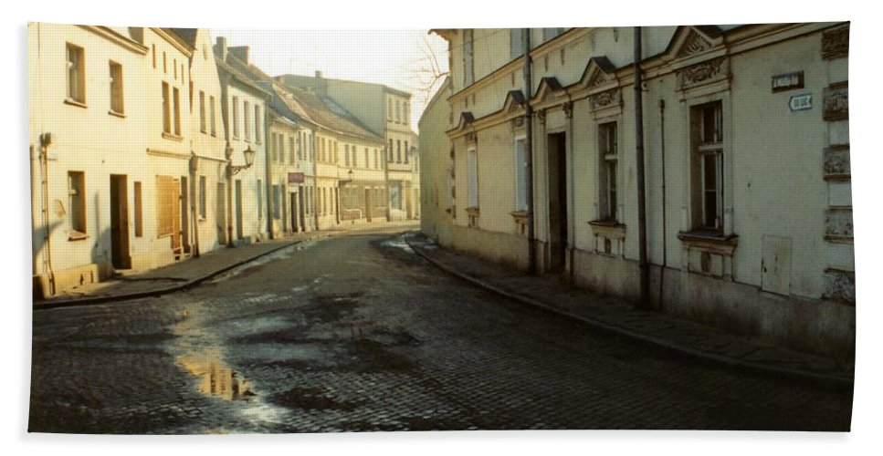 Street Beach Towel featuring the photograph Street by Marcin and Dawid Witukiewicz