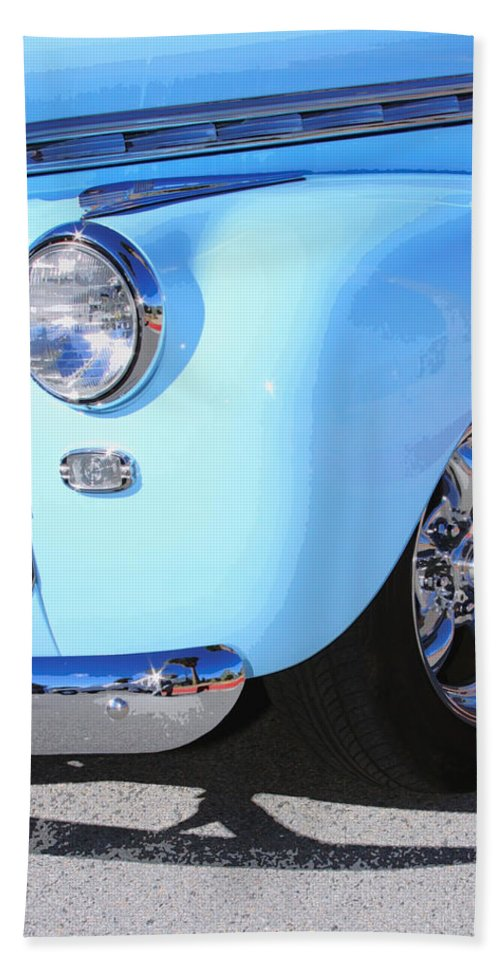Car Beach Towel featuring the photograph Street Rod by William Dey