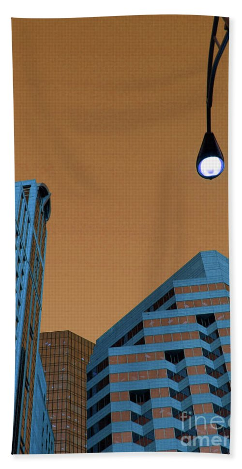 City Beach Towel featuring the photograph Street View by Karol Livote