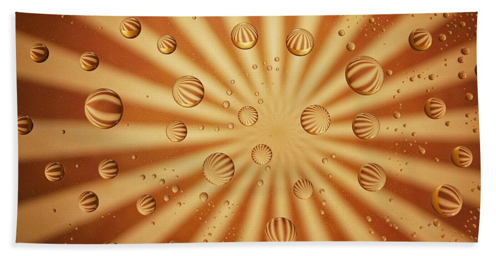 Abstract Beach Towel featuring the photograph Striped Sassy by Dennis Nelson